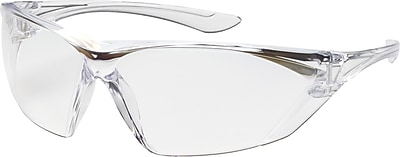 Rimless Safety Glasses with Clear Temple, Clear Lens and Anti-Scratch / FogLess™ Coating