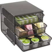 Safco® Onyx™ Three Drawer Hospitality Organizer
