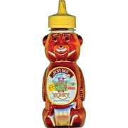 Golden Heritage Busy Bee Bear Clover Honey, 12ct