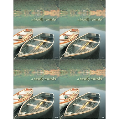 MAP Brand Scenic Laser Postcards Wooden Boats