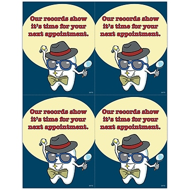 MAP Brand Toothguy Laser Postcards Records Show