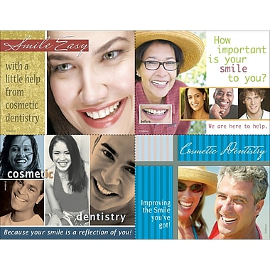 MAP Brand Photo Image Assorted Laser Postcards Smile Easier