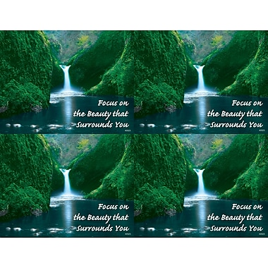 MAP Brand Scenic Laser Postcards Waterfall,