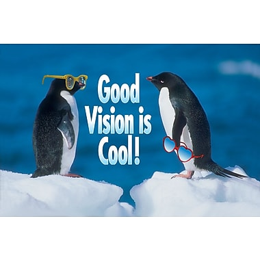 MAP Brand Humorous Laser Postcards Good Vision is Cool