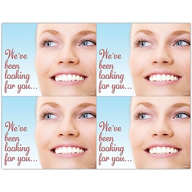 MAP Brand Photo Image Laser Postcards We've Been Looking For You