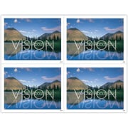 MAP Brand Scenic Laser Postcards Vision We Care About