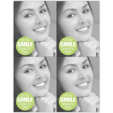 MAP Brand Cosmetic Dentistry Laser Postcards Smile Speak for Itself