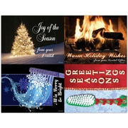 MAP Brand Seasonal Assorted Laser Postcards Merry & Bright