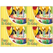 MAP Brand Photo Image Laser Postcards Birthday