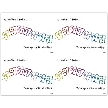 MAP Brand Orthodontia Laser Postcards