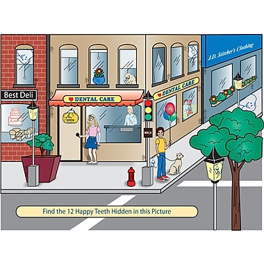 MAP Brand Patient Interactive Laser Postcards Find the Tooth