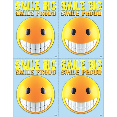 MAP Brand Humorous Laser Postcards Smile Proud