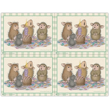 MAP Brand House-Mouse Designs Laser Postcards Candle