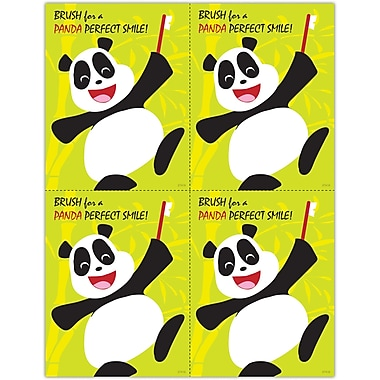 MAP Brand Pediatric Dentistry Laser Postcards Panda, Perfect Smile