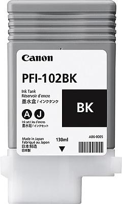 Canon PFI-102BK Black Ink Cartridge (0895B001)