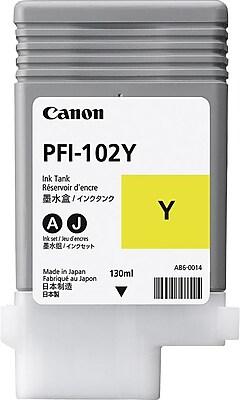 Canon PFI-102Y Yellow Ink Cartridge (0898B001)