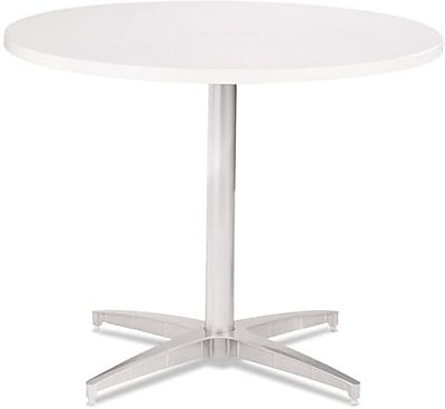 ICEBERG OfficeWorks 36'' Round Conference Table, White (69133)