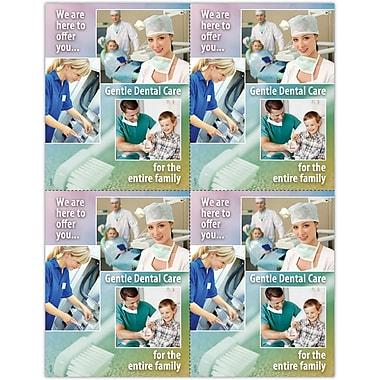 MAP Brand Photo Image Laser Postcards Gentle Dental