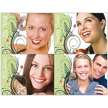 MAP Brand Cosmetic Dentistry Laser Postcards Assorted