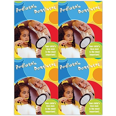 MAP Brand Pediatric Dentistry Laser Postcards First Visit