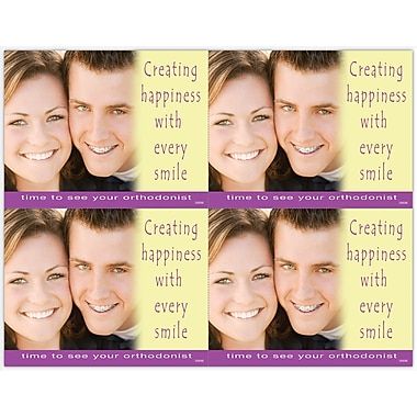 MAP Brand Orthodontia Laser Postcards Happiness