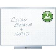 Quartet® Prestige® 2 Total Erase® Whiteboard, Silver Aluminum Frame, 3'W x 2'H (TE543AP2)