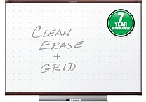 Quartet® Prestige® 2 Total Erase® Whiteboard, 3' x 2', Mahogany Finish Frame (TE543MP2)