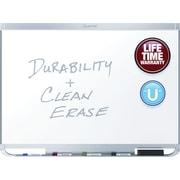 Quartet® Prestige® 2 DuraMax® Porcelain Magnetic Whiteboard, 4' x 3', Aluminum Frame (P554AP2)