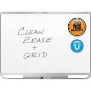 Quartet® Prestige® 2 Total Erase® Magnetic Whiteboard, 3' x 2', Silver Aluminum Frame (TEM543A)