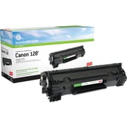 Staples® Remanufactured Laser Toner Cartridge, Canon 128 (3500B001AA), Black