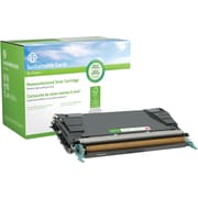 Sustainable Earth by Staples Remanufactured Black Toner Cartridge, Lexmark C5242KH (SEBC5240BR), High Yield