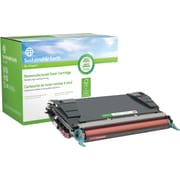 Sustainable Earth by Staples Remanufactured Magenta Toner Cartridge, Lexmark C5242MH (SEBC5240MR), High Yield