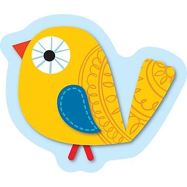 Carson-Dellosa Boho Birds Mini Cut-Outs, Grades PK - 8