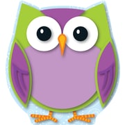 Carson-Dellosa Colorful Owl Cut-Outs