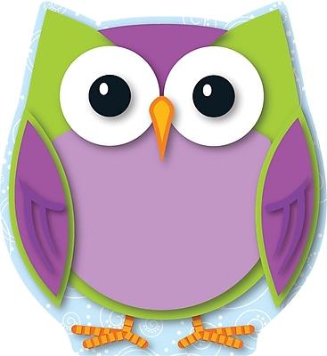 Carson-Dellosa Colorful Owl, Cut-Outs