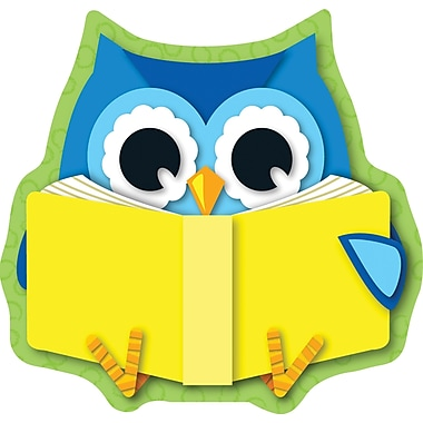 Carson-Dellosa Reading Owl Cut-Outs