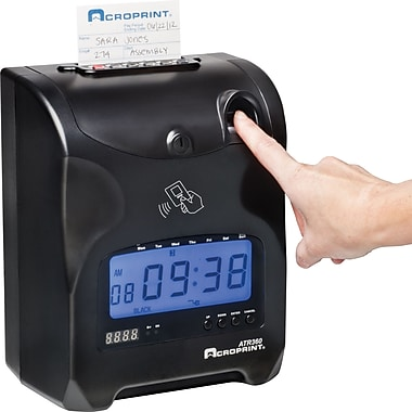 Acroprint ATR360 Top Loading Biometric Time Clock