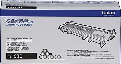 Brother Genuine TN630 Black Original Laser Toner Cartridge