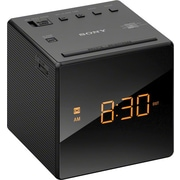 Sony® ICFC1B Alarm Clock with FM/AM Radio, Black