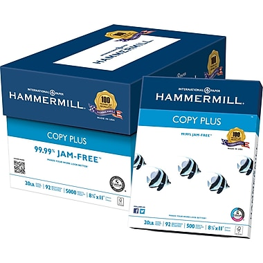 Hammermill® - Papier à copies Copy Plus, 8 1/2 po x 11 po, bte
