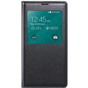 Samsung - Étui pour téléphone pliable Galaxy S5 S-View, noir