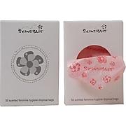 Scensibles Plastic Personal Feminine Disposal Bags, 6 Refill Packs (SBX50-6)