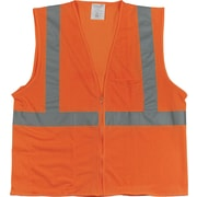 PIP 2-Pocket Safety Vest, Orange, Large