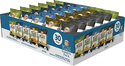 Lays® Kettle Cooked Variety Pack, 30 Bags/Case (FRI25148)