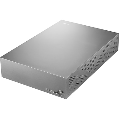 Seagate Backup Plus 2TB Desktop USB 3.0 External Hard Drive with Mobile Device Backup, Silver