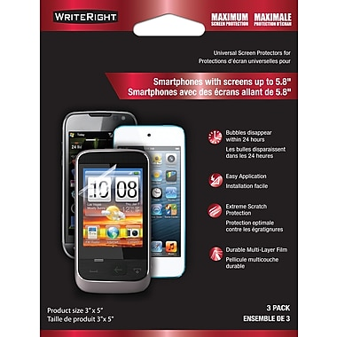 WriteRight Maximum Screen Protection for Smartphone Universal