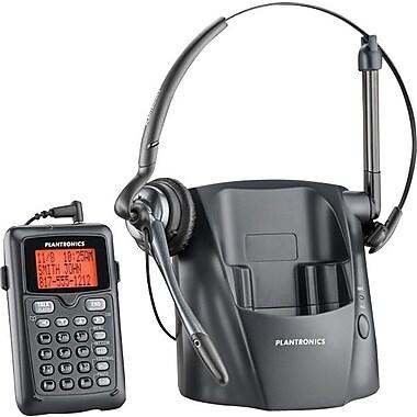 Plantronics – Téléphone avec casque d'écoute sans fil DECT 6.0 (CT14), (80057-13)