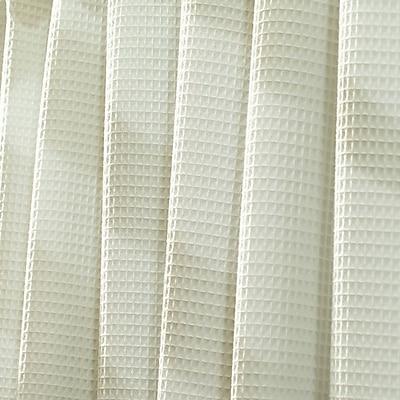 InterDesign® York Polyester/Cotton Shower Curtain, Natural