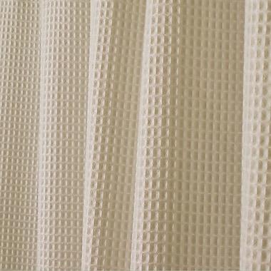 InterDesign® York Polyester/Cotton Shower Curtain, Linen
