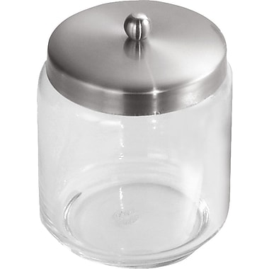 InterDesign® Forma Glass Apothecary Jar, Clear